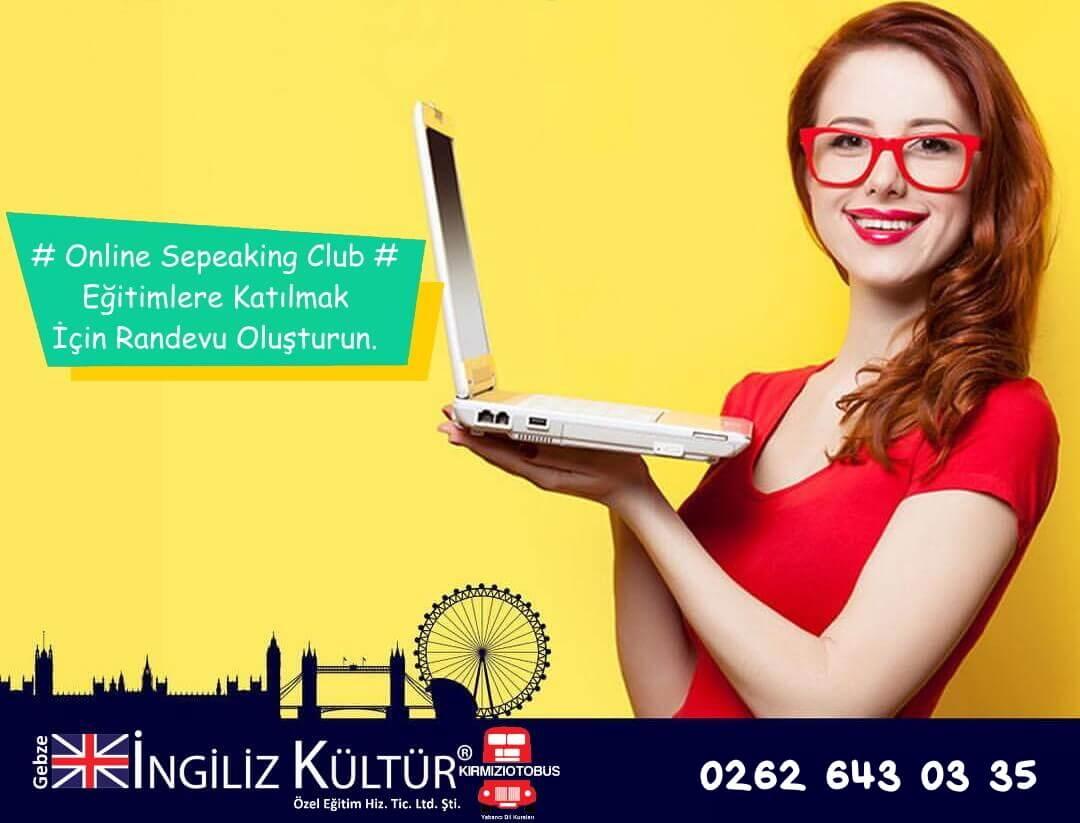 gebze ingiliz kültür online speaking club